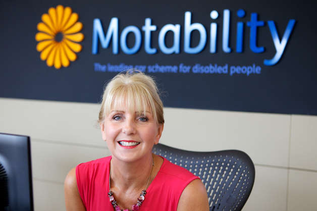 Motability-Operations-employee-at-reception