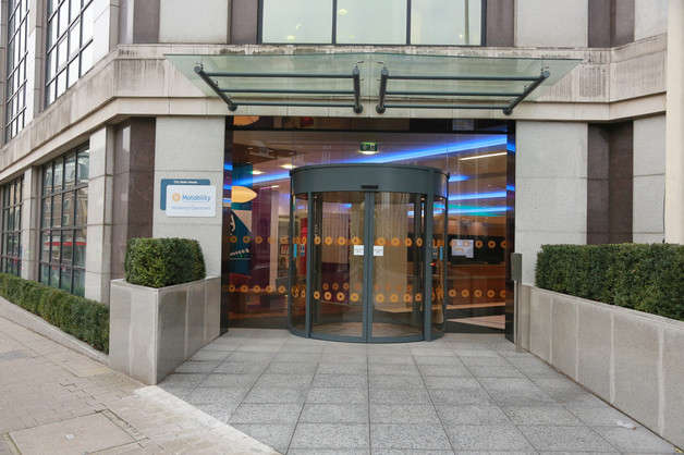 Front-entrance-of-Motability-Operations-London-building